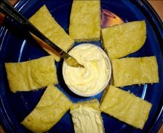 This is my very favorite low carb recipe! Its so easy to prepare, and its done in only 2 minutes in the microwave. The best part is that it only amounts to 1 carb per slice!!! There isnt a trace of corn in the recipe, but try it; it really does taste like cornbread!