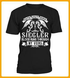 SIEGLER Blood Runs Through My Veins - Shirts für singles (*Partner-Link)
