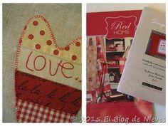 Red Home Aplique quilt de Natalie Bird Patchwork Quilting applique