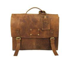 Dirty Harry  #Messenger #Bag #leather
