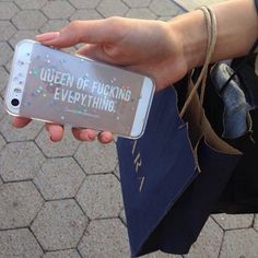 phone cover gold iphone girly sparkles phone case iphone 5 case iphone case apple queen of fucking everything Iphone 8, Iphone 5 Cases, Iphone 6 Plus Case, 5s Cases, Sparkly Phone Cases, Glitter Iphone 6 Case, Apps, Phone Cover, Samsung
