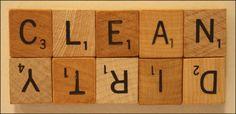 Scrabble Tile Dishwasher Sign