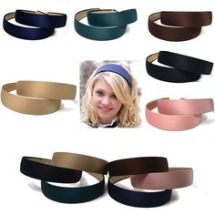 4 Alice Bands Yellow Pink Blue Headband Hair Band Aliceband Set Women Girls Kids Superior Materials Clothing, Shoes & Accessories Hair Accessories