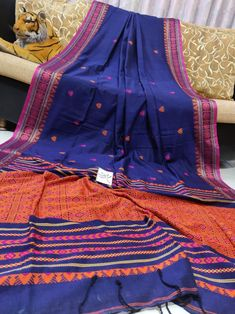 Price-Rs 2030 + Shipping extra Mercerise cotton saree with blouse piece Best Quality assure 100 count cotton Cotton Saree Blouse, Cotton Blouses, Bridal Sarees, Extra Fabric, Saree Styles, Designer Sarees, Online Fashion Stores, Party Wear, Hand Weaving