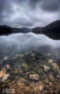 Cloudy Morning - A cloudy, stormy morning at Radnor Lake in Nashville, TN