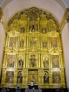 Retablo Mayor de la iglesia de San Francisco de Tolosa. Gipuzkoa.