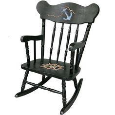 nautical rocking chair $454