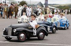 The Goodwood Revival kids car race