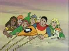 I so loved the Dungeons and Dragons Cartoon Dungeons And Dragons Cartoon, 80s Kids, Kids Tv, 1980 Cartoons, Retro Cartoons, Rick E, Childhood Tv Shows, Saturday Morning Cartoons, Cartoon Tv Shows