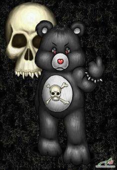 I'm goin w Fuck you, I don't care bear