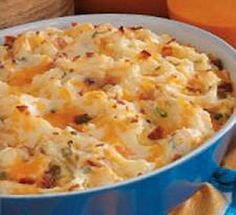 Weight Watchers Recipes - Bacon and Cheddar Mashed Potatoes