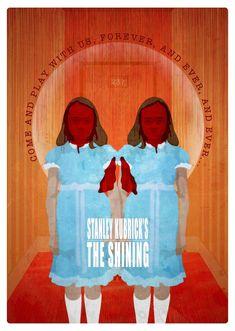 "The Shining | The Shining"" by Domanic Li. A3 16.5"" x 11.7"" digital print. Ed of 50 ..."