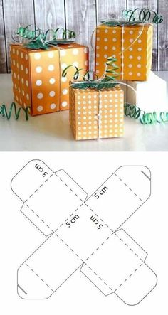 Unique gifts for Xmas? Diy Gift Box, Diy Box, Diy Gifts, Unique Gifts, Xmas Gifts, Cardboard Box Crafts, Paper Crafts, Chocolate Gift Boxes, Box Patterns