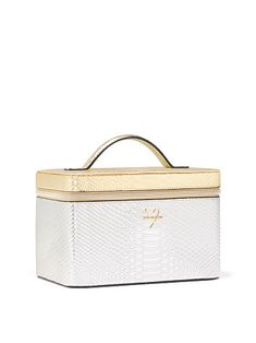 0f2796ccac347c Luxe Python Runway Vanity Case Vanity Cases, Large Bags, Cosmetic Bag,  Python,
