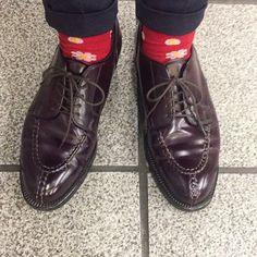 今日は赤馬NST I wear Alden burgundy shellcordovan NST. #alden #オールデン #足もと倶楽部 #leathershoes #horween #shellcordovan #fashion #kicks #todayskicks #Tokyo #KOTD #aldenarmy #YOLO #tagsforlike #tflers #instagood #instadiary #instalike #instapic #instaphoto #madeinusa #leathergoods #shoestagram #instashoes #shoeporn