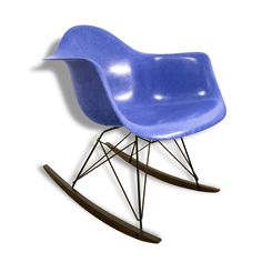 Rocking Chair RAR en fibre de verre, Charles & Ray EAMES - 1960 vendu…