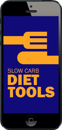 Slow Carb Diet Tools App!  Finally a great way to stay on Tim Ferriss' Diet from the 4 Hour Body