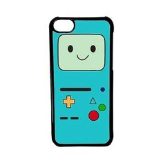 CellPowerCasesTM Beemo Adventure Time Case for iPhone 5c (Black Case) ($9.98) ❤ liked on Polyvore