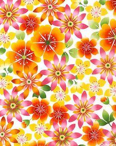 'Happy Garden' collection by Kona Bay Fabrics.
