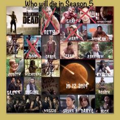 So far. Waiting for back 8 of S5 to begin. Created by Janice Murphy.