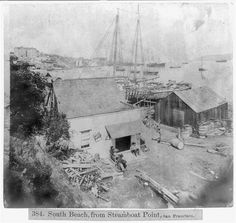 today woud never recognize it! South Beach from Steamboat Point, San Francisco Places In California, Vintage California, Migrant Worker, Steamboats, San Francisco California, Vintage Photographs, South Beach, Bay Area, Historical Photos
