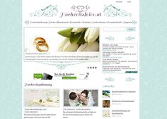 One of our latest Wordpress Webdesign projects for a new Wedding Magazine.