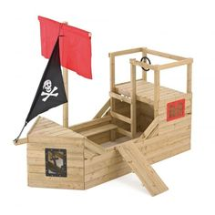 Buy TP Pirate Galleon Wooden Playhouse at Argos. Thousands of products for same day delivery or fast store collection. Outdoor Toys, Outdoor Fun, Wooden Climbing Frame, Bateau Pirate, Outdoor Play Equipment, Ship Wheel, Wooden Playhouse, Play Centre, Activity Toys