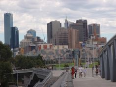 Melbourne City from the MCG