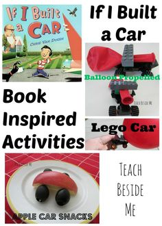 One of our favorite books! If I Built a Car ~ Book Activities from Teach Beside… Car Activities, Transportation Activities, Steam Activities, Hands On Activities, Preschool Activities, Preschool Classroom, Holiday Activities, Toddler Preschool, Fun Learning