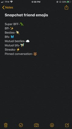 Names For Snapchat, Snapchat Best Friends, Snapchat Friend Emojis, Snapchat Ideas, Instagram And Snapchat, Instagram Quotes, Instagram Tips, Friends Emoji, Snap Friends