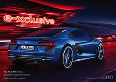 Audi e-Tron Campaign 2015 Print on Behance