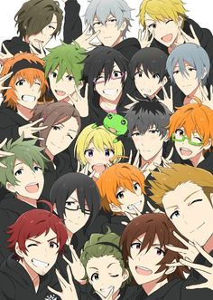 Idolmaster Side M Tv Anime, Anime Plus, Anime Base, Manga Anime, Best Pictures Ever, Cool Pictures, Netflix, Hot Anime Boy, Angel Of Death