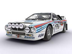 Lancia 037 vista davanti by Farins