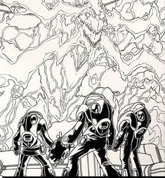 WEB WARRIORS for Marvel Comics. Pencils: David Baldeon, Inks: Walden Wong Sub me on www.youtube.com/WaldenWongArt . #marvel #marvelcomics #anime #manga #sketch #inker #comics #spiderman #spiderverse #illustration #arts #artwork #micron #spidergwen #comics #artworks #MCU #artwork #art #artist #draw #drawing #illustrate #arte #inking #inks #draweveryday #picoftheday #spiderham #doodleart #drawingoftheday #drawdrawdraw