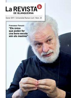Coberta La revista de Blanquerna, 24, 2011 #design #university #Blanquerna