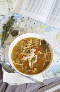 Chicken and noodle soup | Singly Scrumptious