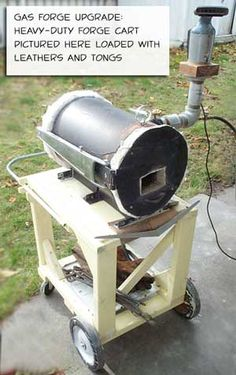Homemade Pipe Burner Forced Air | 1000+ ideas about ...