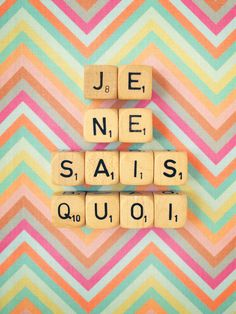"""""""Je Ne Sais Quoi"""" art   """"I do not know""""- a French expression meaning: an indefinable, elusive quality, especially a pleasing one."""