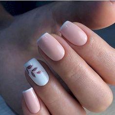 nail polish ideas for winter - nail polish ideas ; nail polish ideas for spring ; nail polish ideas for summer ; nail polish ideas for winter Simple Acrylic Nails, Square Acrylic Nails, Colorful Nails, Square Nails, Gorgeous Nails, Pretty Nails, Gorgeous Gorgeous, Light Pink Nails, Pink White Nails
