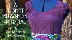T Shirt Refashion Tutorial1