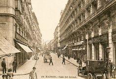Arenal. Madrid 1920. Concesionario de Renault de 1920.
