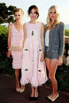 Chanel triplicate