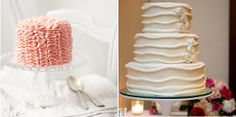 two talented cake designers we have here on the blog as preferred vendors Julie with Layers-cake & Tasha with Cake-a-licious and got their most current thoughts on 2012 trends,