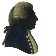 silhouette by w.phelps, who worked in covent garden, london in the late eighteenth century