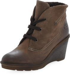 Marc - 140907-04-485 Tdm Wedges, Boots, Fashion, Brown, Crotch Boots, Moda, Wedge, Shoe Boot, Fasion