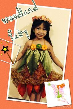 DIY Woodland Fairy costume