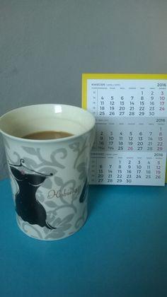 Kawa w ulubionym kubku