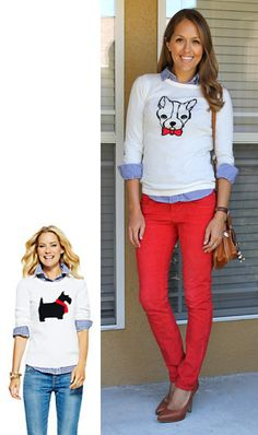 With lobster sweater? Inspiration: C.Wonder