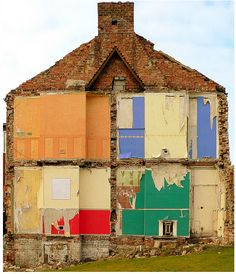 Photograph Source and Copyright by Marcus Buck What do you call this? The guys from Pruned thinks it is a 'Ghost House'. Ghost House, Derelict Buildings, Inside Outside, Claude Monet, Vincent Van Gogh, Abandoned Places, Urban Art, Urban Decay, Home Art