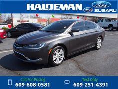 2015 Chrysler 200 Limited 17k miles $14,998 17238 miles 609-608-0581 Transmission: Automatic  #Chrysler #200 #used #cars #HaldemanFord #HamiltonSquare #NJ #tapcars
